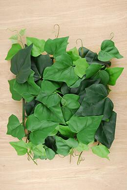 Silk Herera Ivy Mat 9.5x9.5 Fire Safe Foliage