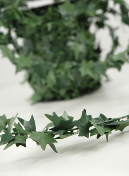 Wired Miniature PVC Ivy Garland 27yds