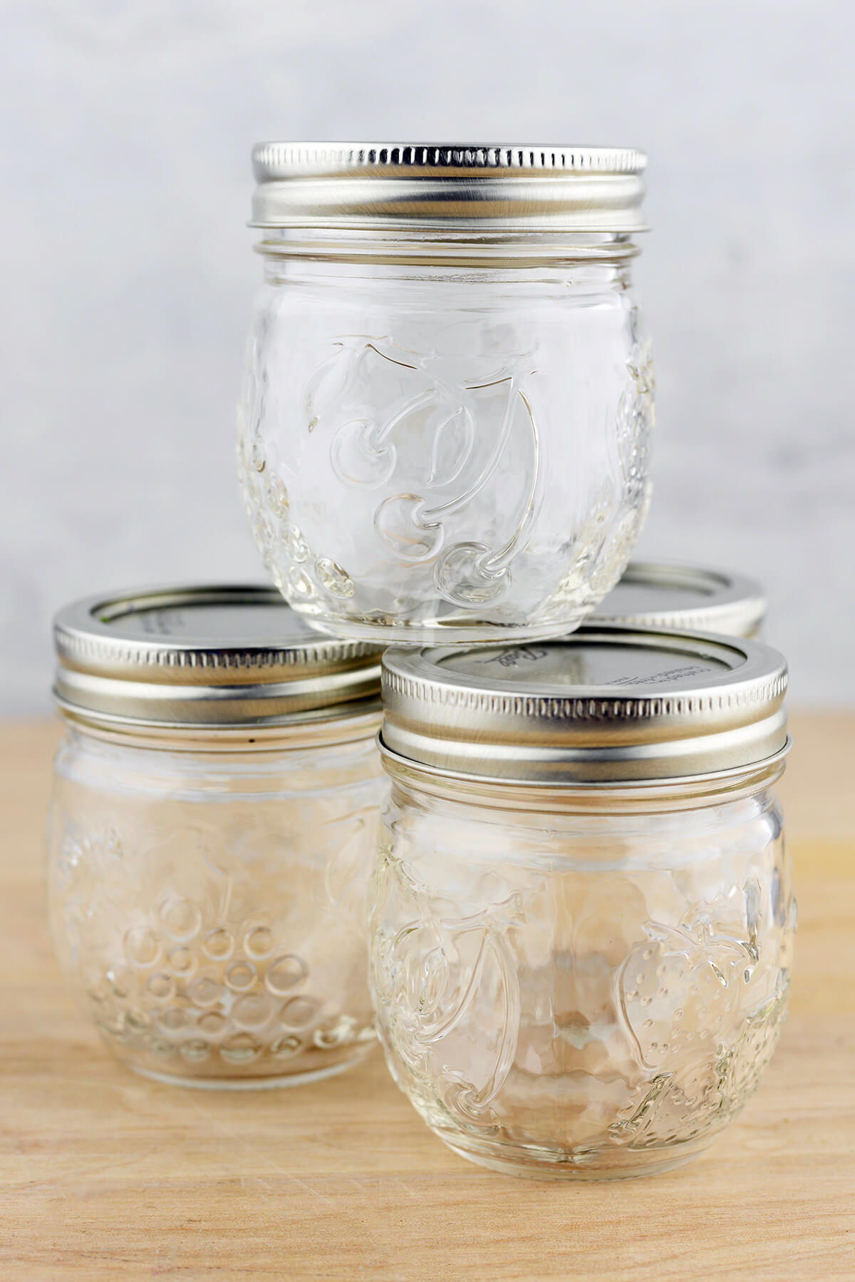 Mason Jars 8oz Regular Mouth Jam Jar Elite Collection