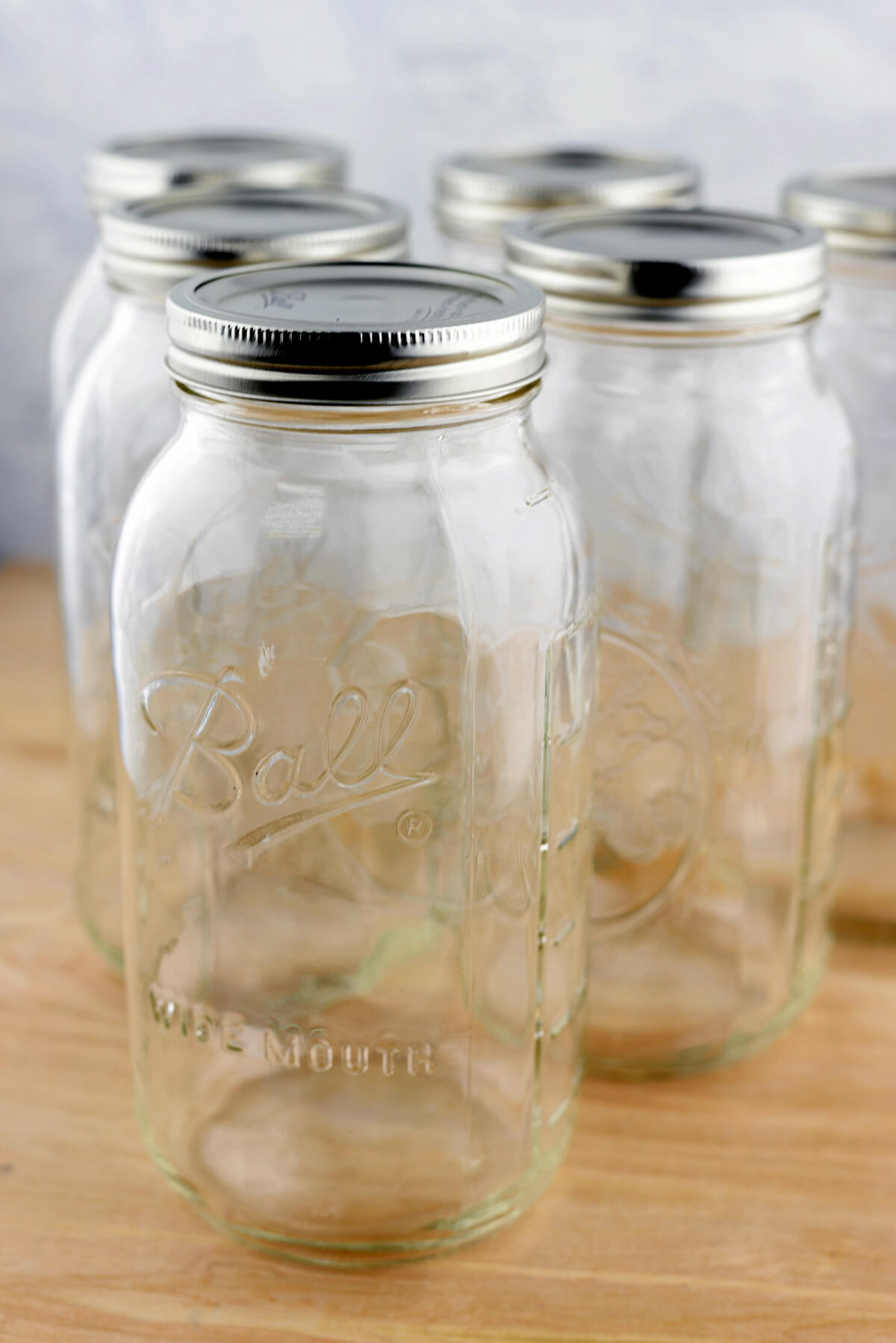 6 Half Gallon Mason Jars Ball Canning Jars Wide Mouth