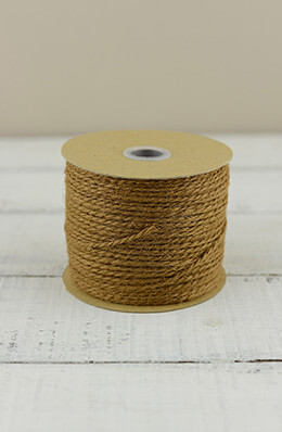 Jute Twine Cording Rustic Brown 100 yards