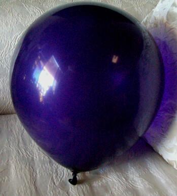 """72 Purple 17"""" Balloons, Crystal Finish"""