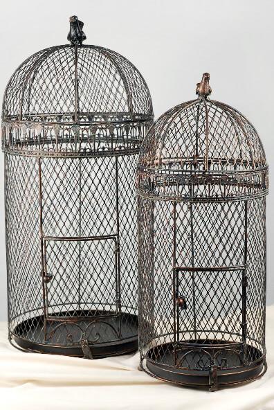 Large Vintage Pigeon Bird Cages 30 Quot Amp 25 Quot