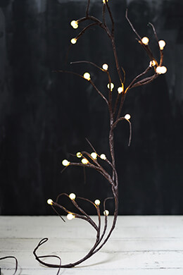 LED Branch Garland 6ft - 60ct