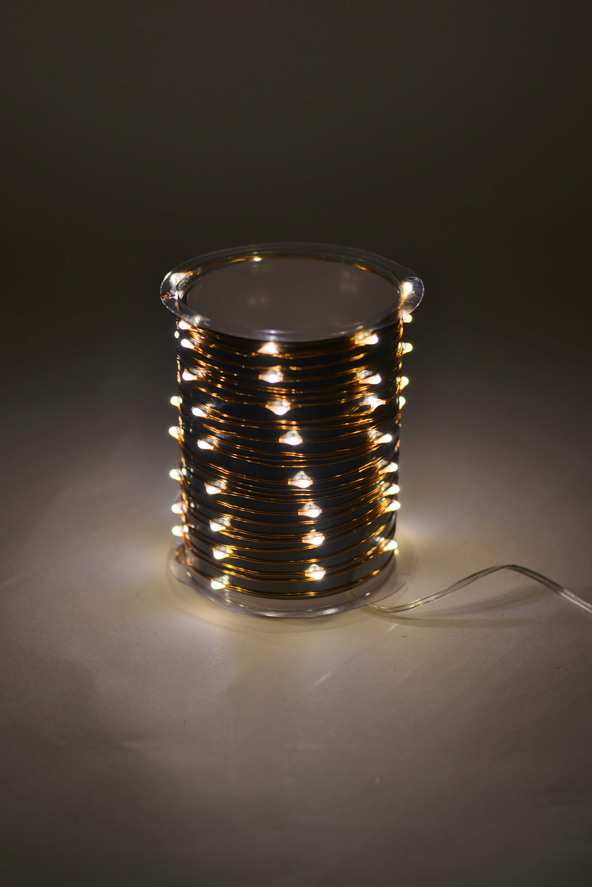 Outdoor Fairy Lights 20 Ft Battery Op 60 Warm White Led