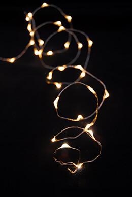 LED Light Firefly Warm White 16ft - 100ct