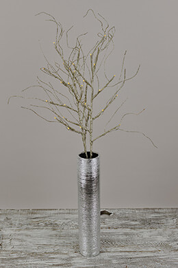 LED Glitter Branch Gold 30ct - 39in (Set of 2)