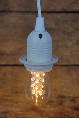 LED S14 Edison Light Bulb Warm White (E26 base)