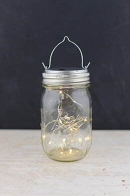 Mason Jar Lights 20CT Warm White LED Fairy Lights with Lid & Hanger ( for Regular Mouth Mason Jars)