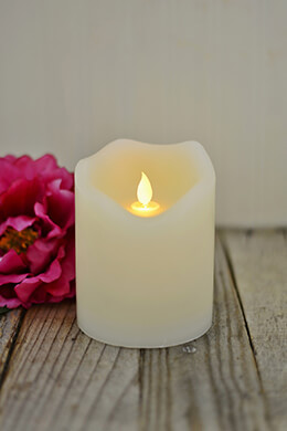 LED Motion Flame Candle 4x5in