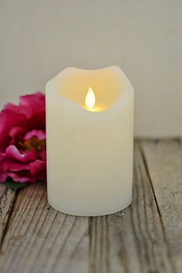 LED Motion Flame Candle 4x6in