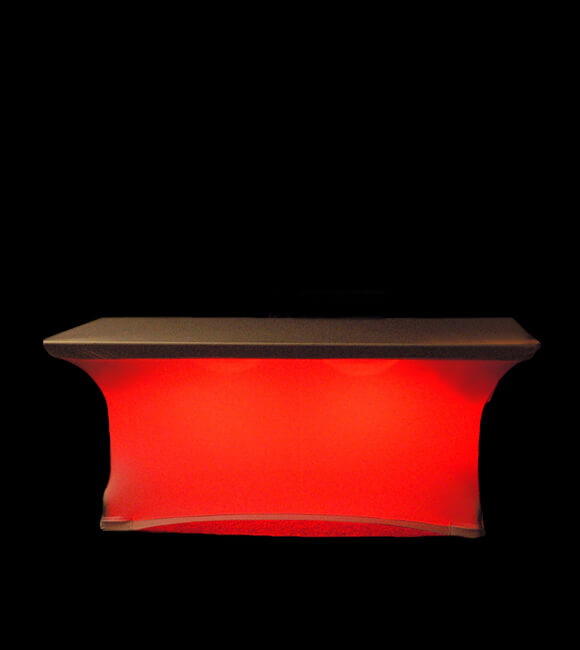 Led Table Skirt Light With Remote Control