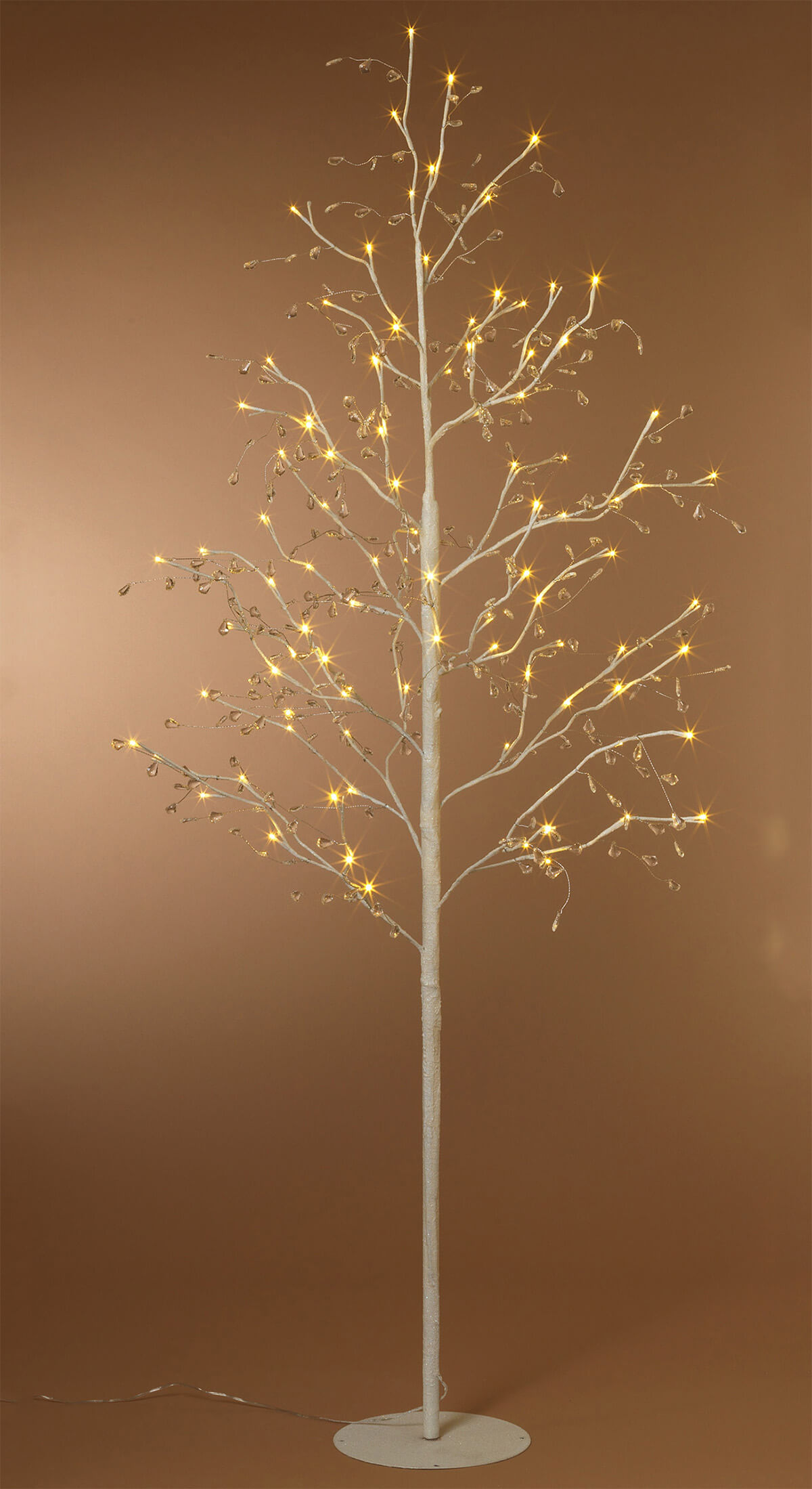 Led Tree White Crystal 6ft Birch Trees