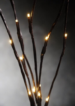 "Lighted Branches 39""  Warm White 39in  Battery Operated"