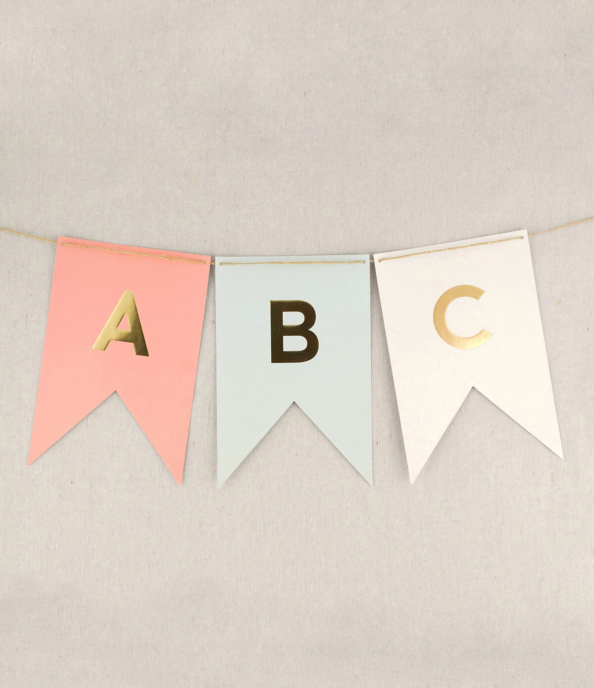 banner letters