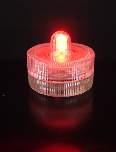 10 Red LED Floralytes LED Submersible