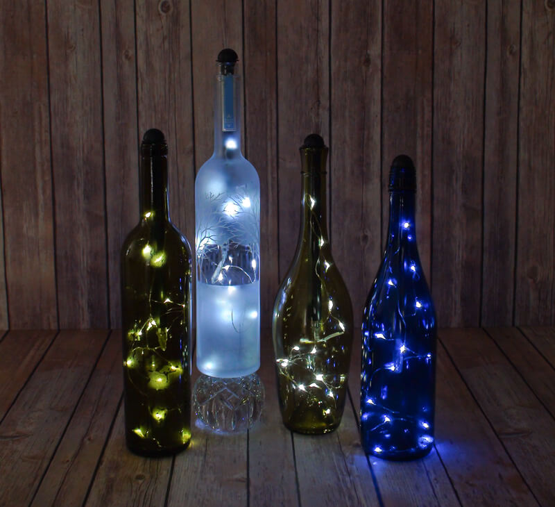 What a great use for old wine bottles, Doug. I will be looking forward to see what else you come up with in your war against mosquitoes (says the person with about mosquito bites all over her body after a Fourth of July camp out).