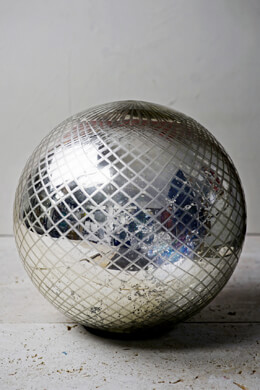 LED Mercury Glass Sphere 10""
