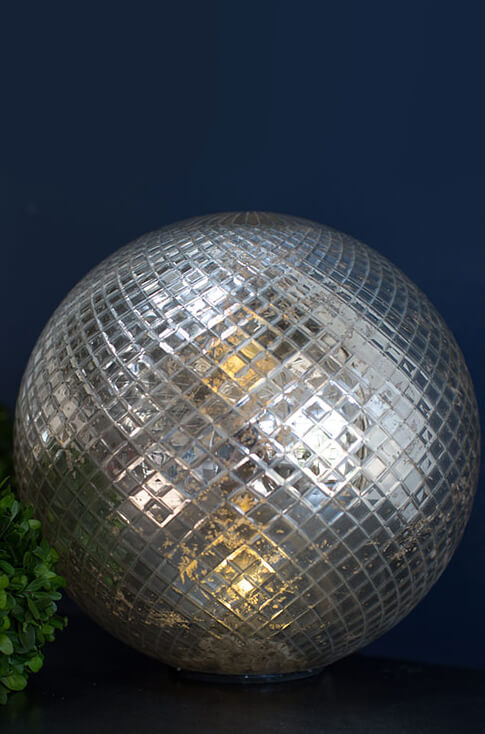 Led Mercury Glass Sphere 11 5 Quot