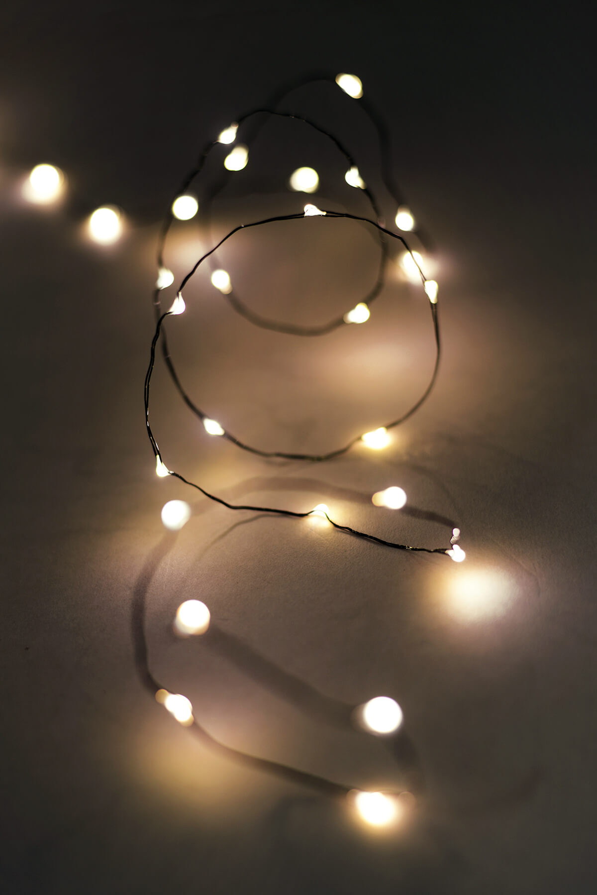 Fairy Lights Outdoor 10FT 60 Warm White Battery Op.