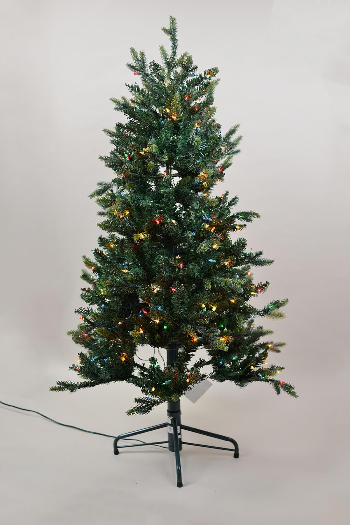 5 foot lighted pine christmas tree - 5 Foot Christmas Tree