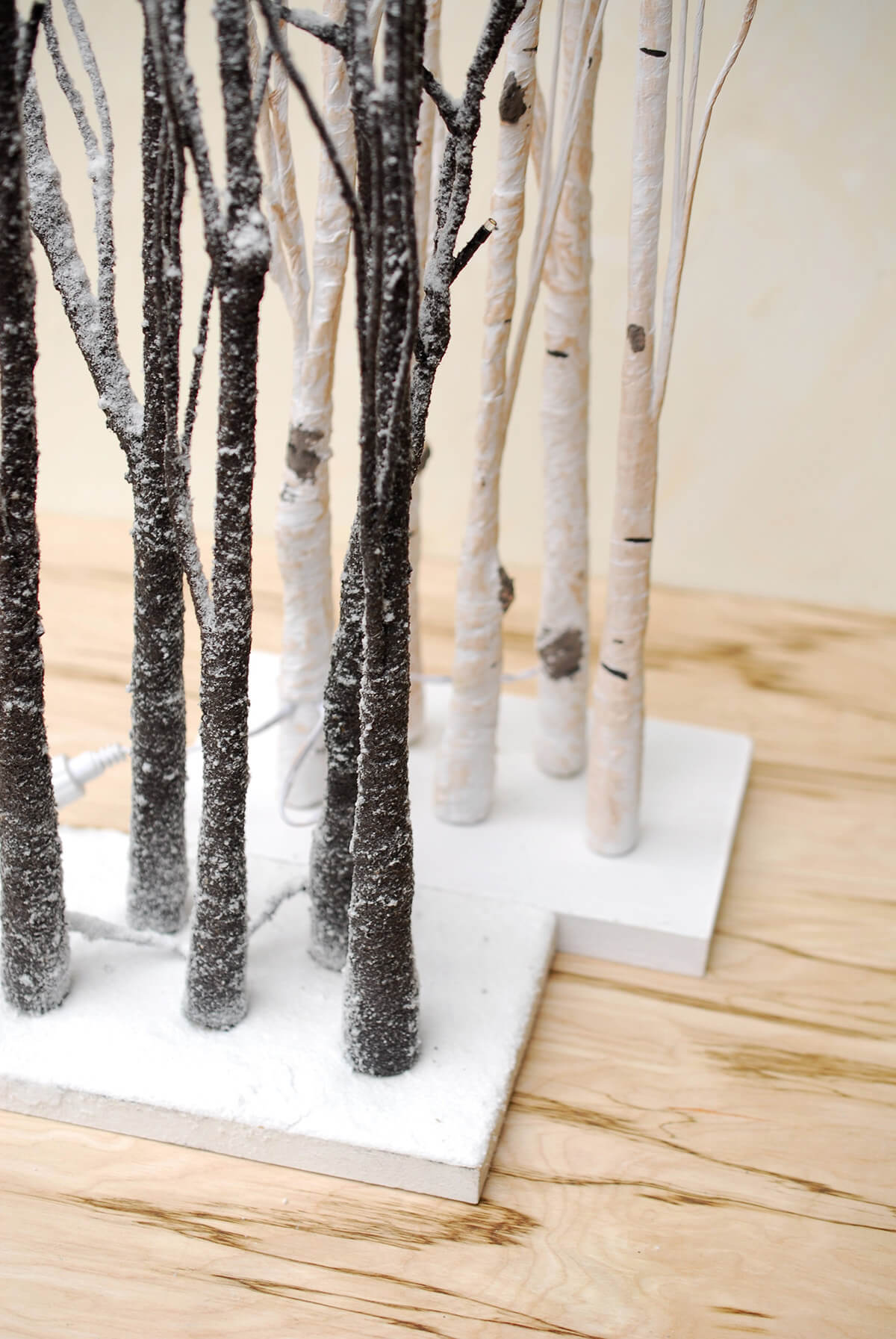 4 Led Tabletop 27 Quot Aspen Birch Trees