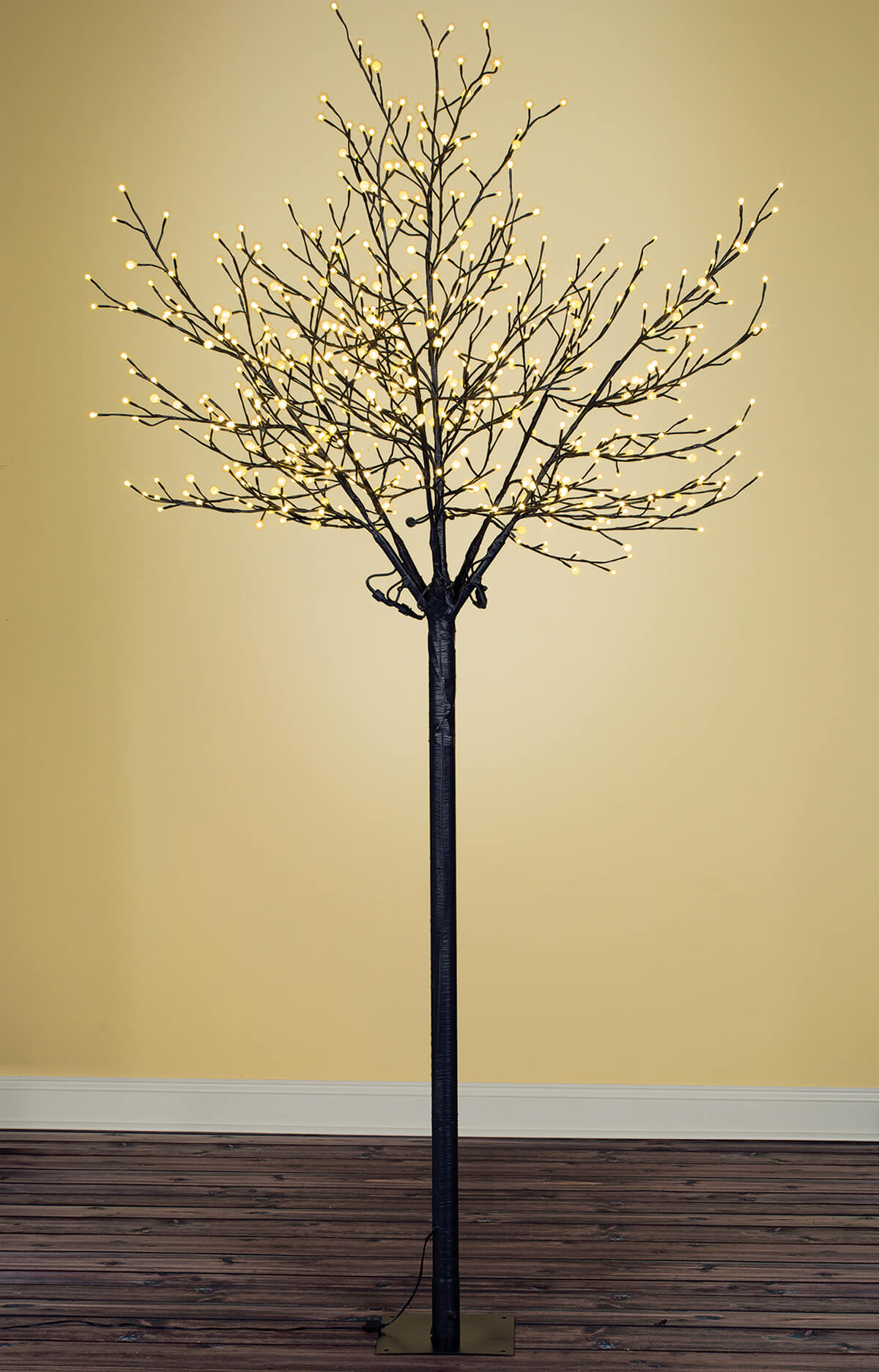 8 Foot City Of Lights Tree Warm White Indoor Outdoor