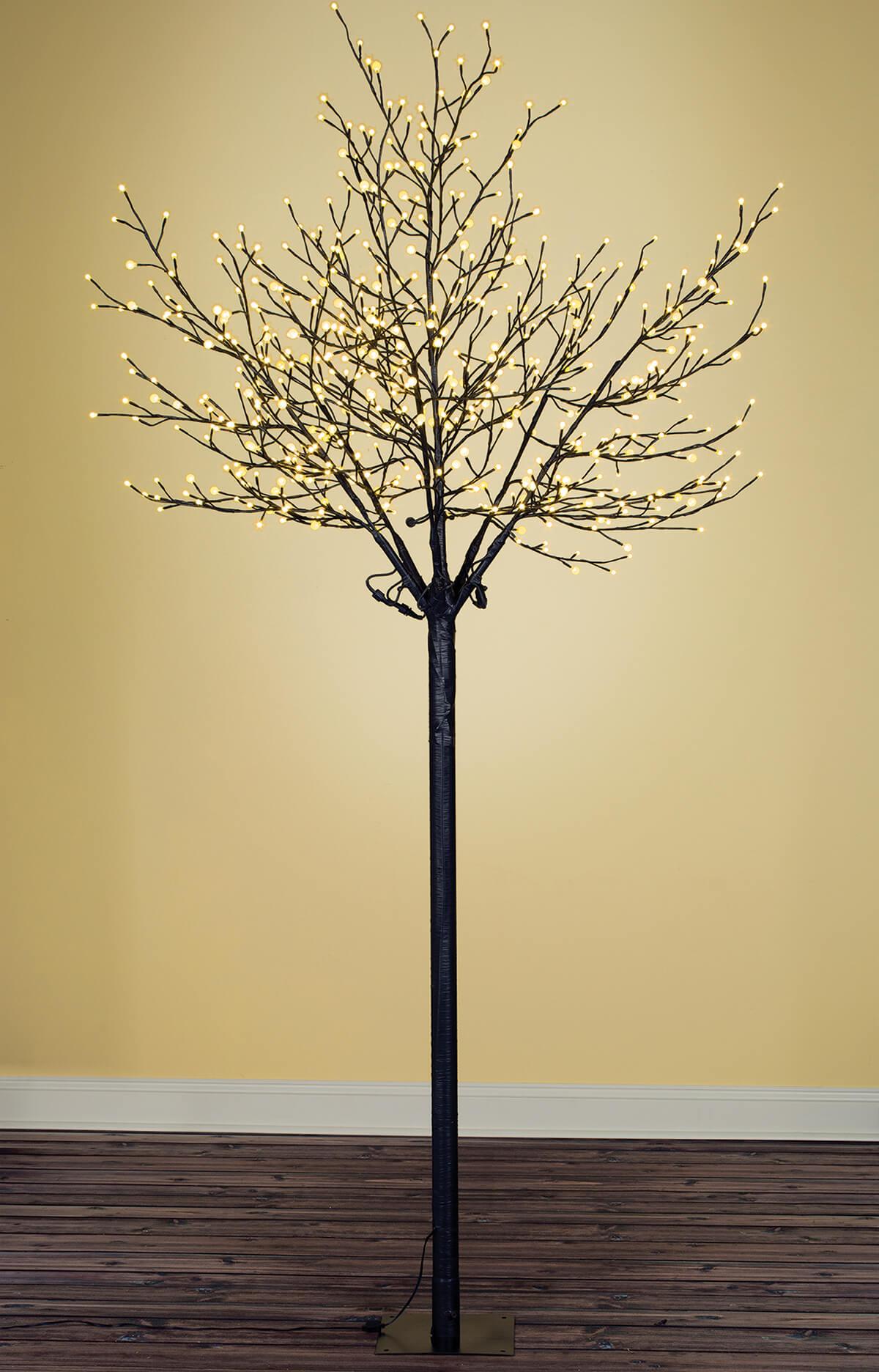 8 Foot City of Lights Tree  Warm White Indoor/Outdoor