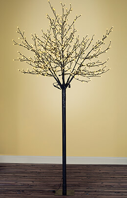 8 Foot City of Lights Tree  Warm White Indoor/Outdoor