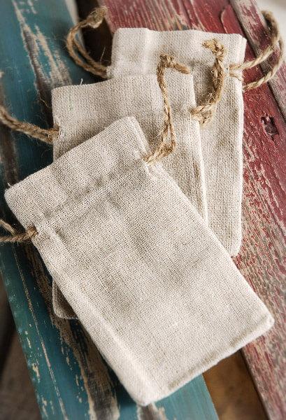 Favor Bags 3x5 Drawstring (12 bags)