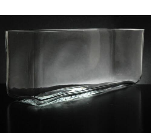 Long Glass Rectangle Vase 11 5 Quot X 3 5 Quot