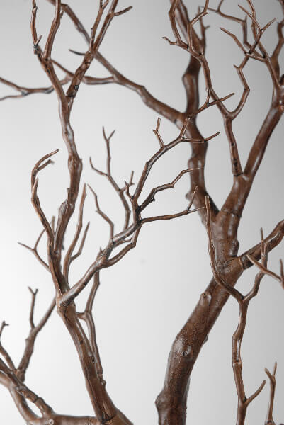 Top Artificial Manzanita Tree Branches Brown 38.5in FM55