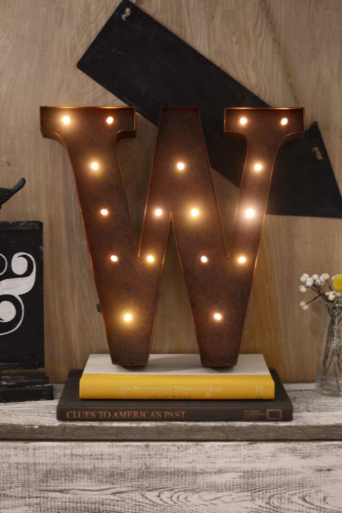 lighting letters. marquee letters w 12in battery operated 17 warm white led lights lighting