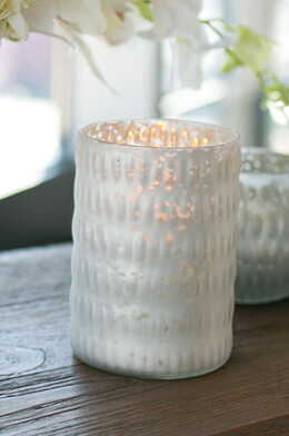 "Beverly Votive Candle Holder 4"" x 5.5"""