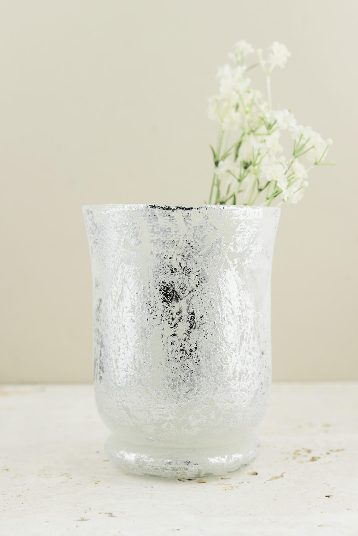 Mercury Glass Vases Candle Holders