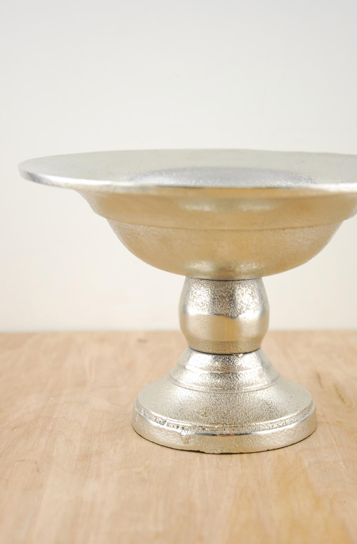 Metal Compote Silver