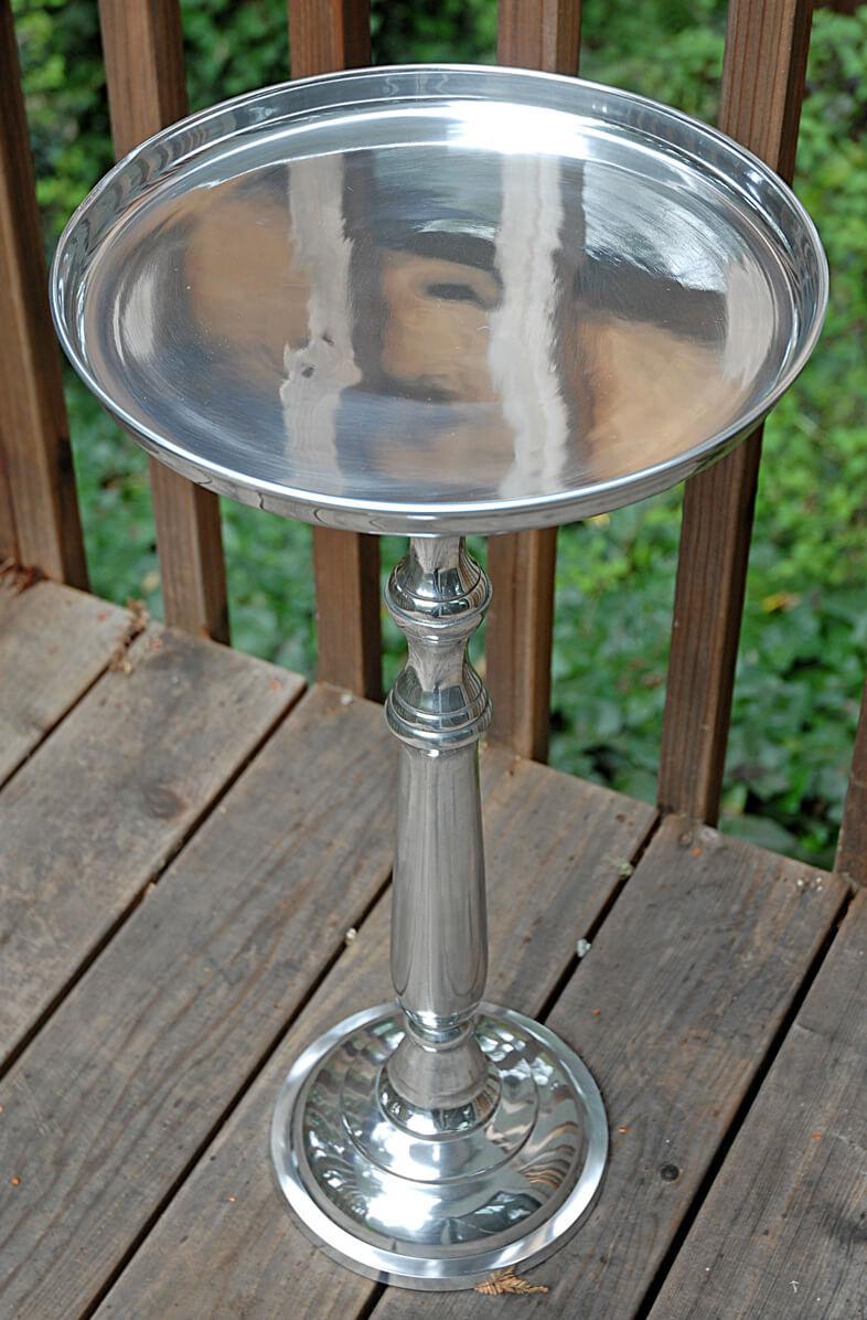 """Bar & Pub Metal Table Adjustable 11""""- 26"""""""