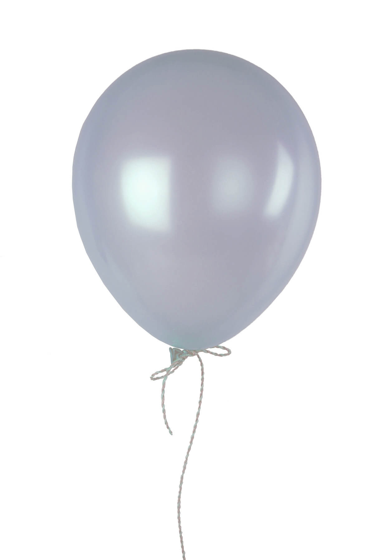 72 metallic silver 17 party balloons for Silver cloud balloons