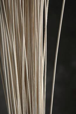 Midollino Sticks 42in White 100-150 Pieces