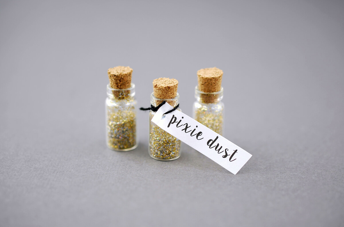 Mini Glass Bottles With Cork 1ml 0 88in Pack Of 12