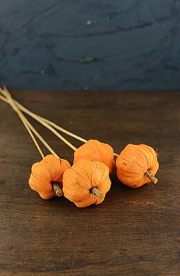 "4 Pumpkin Picks 28"""