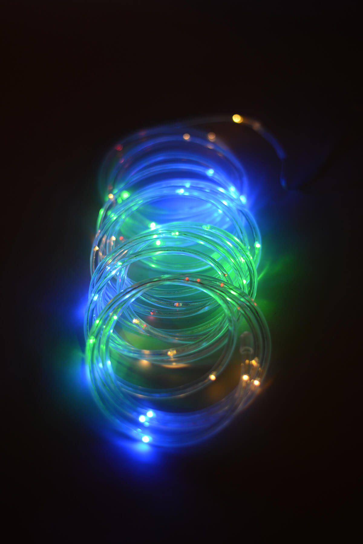 Mini rope light multicolor led 15ft 60ct aloadofball Images