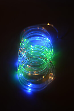Mini Rope Light Multicolor LED 15ft - 60ct