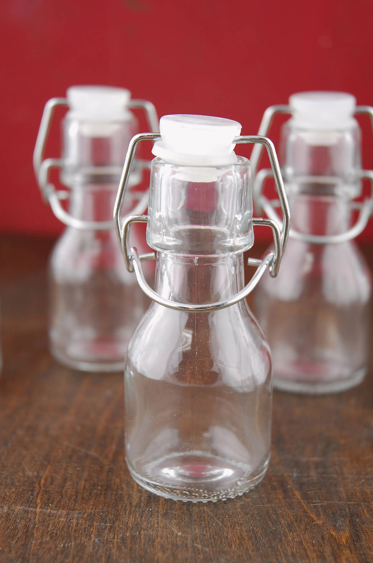 12 4 Quot Glass Swing Top Bottles