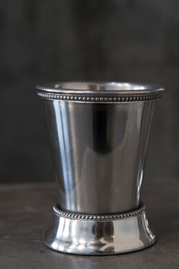 4 Mint Julep Cups 4.25in