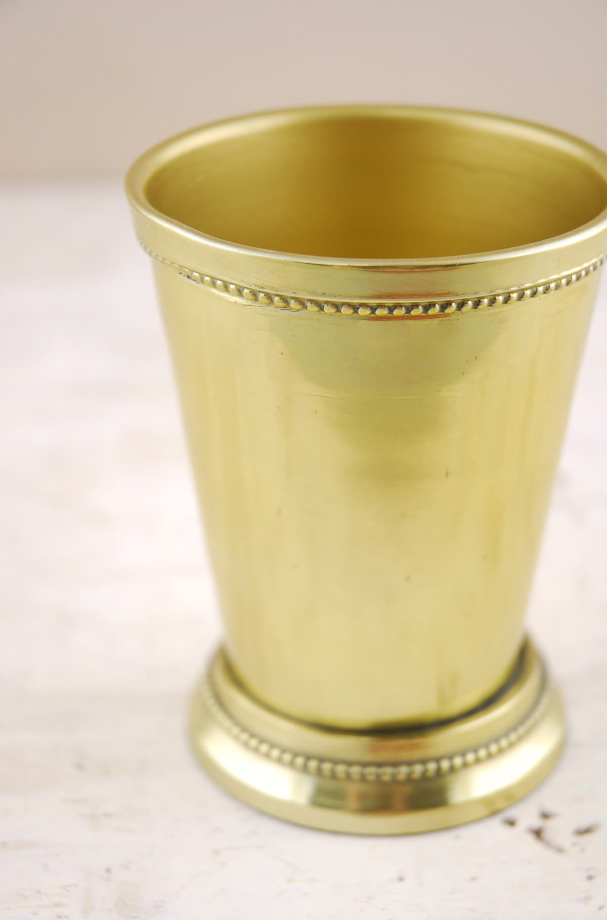 Gold Mint Julep Cups 4.5in