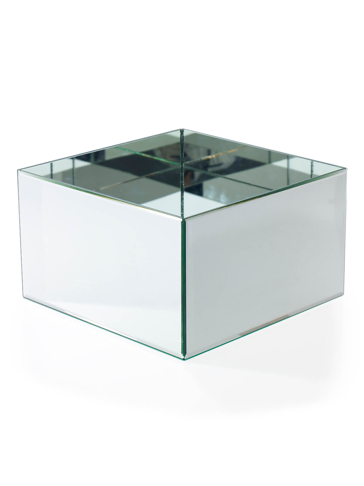 Mirror Cube 12x12x7 Display Amp Planter Box