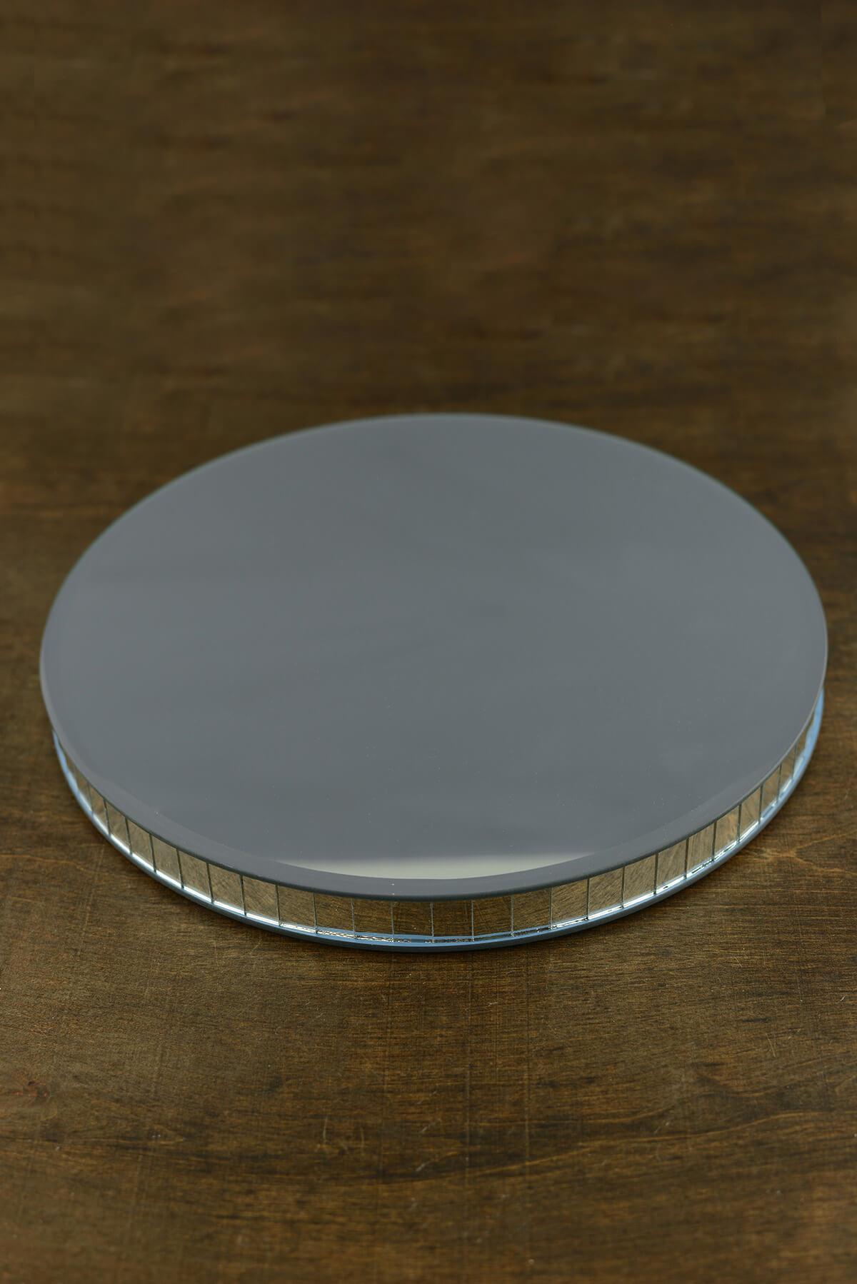 Mirror Riser Round 11.75in