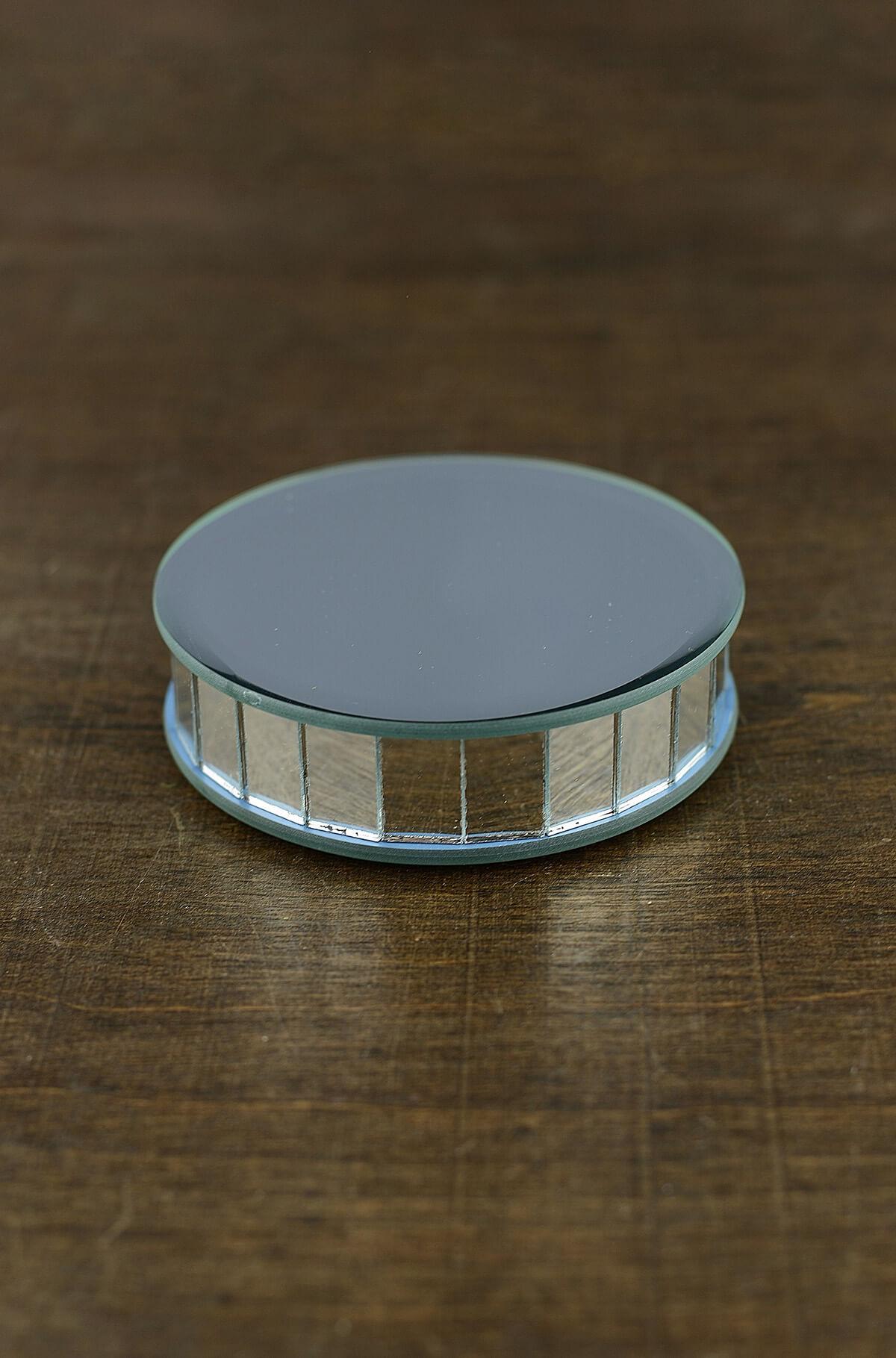 4 Quot Mirror Riser Round Display