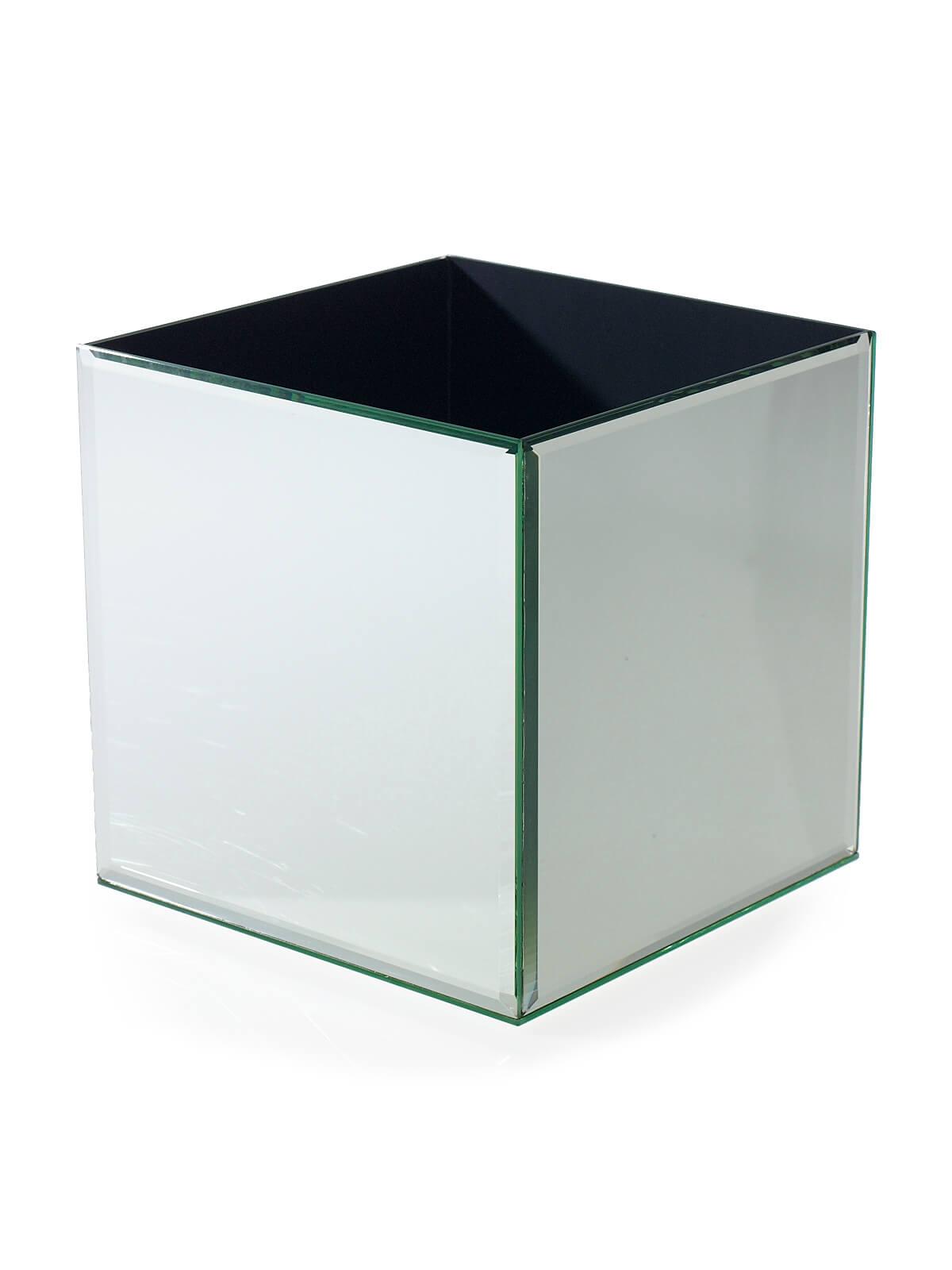 Mirror Cube Riser 8 Inch Square
